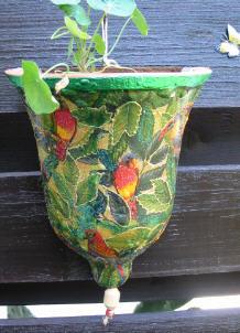 Gartendeko for Fliegen aus blumentopf